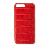 Coque Alligator Véritable iPhone 7 Plus/8 Plus Rouge