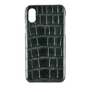 Coque Alligator Véritable iPhone XS/X Vert