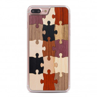 Coque Bois iPhone 7 Plus/8 Plus Carved Puzzle