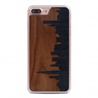 Coque Bois iPhone 7 Plus/8 Plus Carved Chicago Skyline