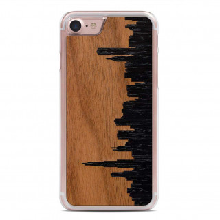 Coque Bois iPhone 6/6s/7 Carved Chicago Skyline