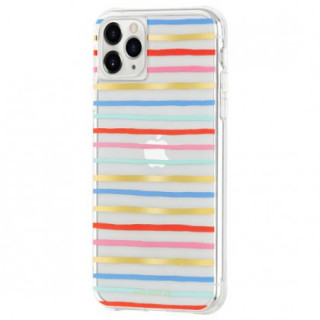 Coque Apple iPhone 11 Pro Case Mate Rifle Paper Happy Stripes