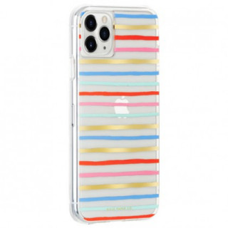 Coque Apple iPhone 11 Pro Max Case Mate Rifle Paper Happy Stripes