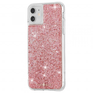Coque Apple iPhone 11 Case Mate Twinkle Rose Doré