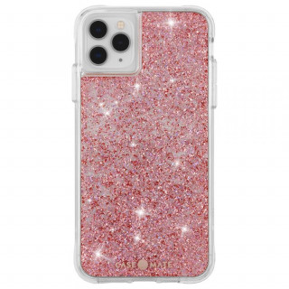 Coque Apple iPhone 11 Pro Max Case Mate Twinkle Rose Doré