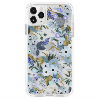 Coque Apple iPhone 12 Pro Max Case Mate Rifle Paper Garden Party Blue