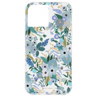 Coque Apple iPhone 12 Mini Case Mate Rifle Paper Garden Party Blue