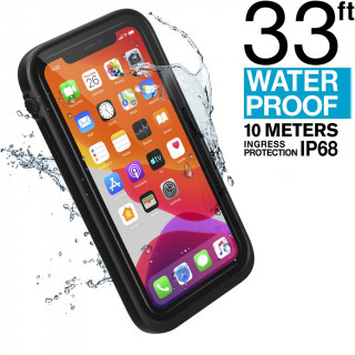 Coque 100% Etanche iPhone 11 Catalyst Noir