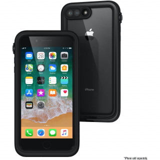 Coque 100% Etanche iPhone 8 Plus/7 Plus Catalyst Noir
