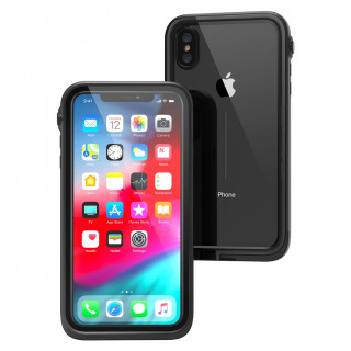 Coque 100% Etanche iPhone XS Max Catalyst Noir