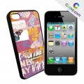 "Coque iPhone 4 / 4S Coovz ""Art10"""
