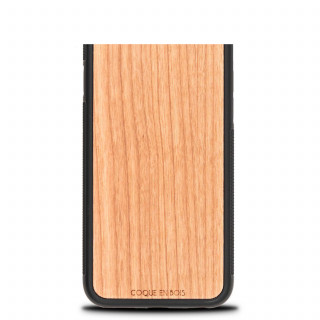 Coque Bois Naturel iPhone XR Merisier