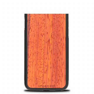 Coque Bois Naturel iPhone XR Padouk