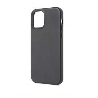 Coque Cuir Apple iPhone 12/12 Pro Decoded Noir