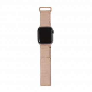 Bracelet Cuir Apple Watch 38/40mm Decoded Traction Strap Rose