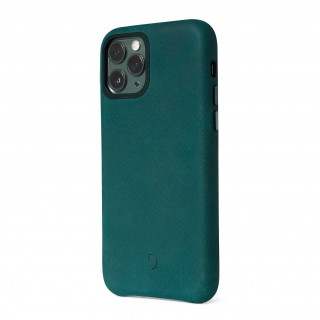 Coque Cuir Apple iPhone 11 Pro Max Decoded Vert