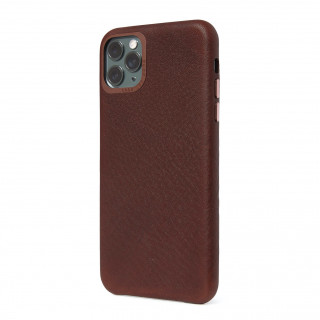 Coque Cuir Apple iPhone 11 Pro Max Decoded Marron