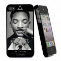 "Coque Apple iPhone 4/4S Eleven Paris ""Will Smith Moustache"""