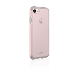 Coque iPhone 7/8 Evutec Selenium Transparent/Rose