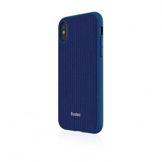 Coque iPhone X Evutec Aergo Ballistic & Support Aimanté Nylon Bleu