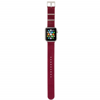 Bracelet Nato Apple Watch 38mm Incase Nylon Rouge