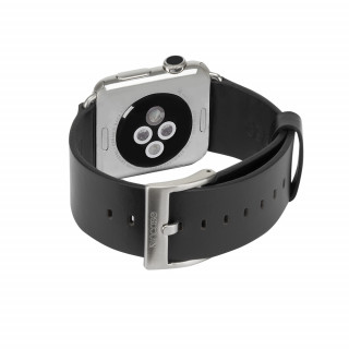 Bracelet Apple Watch 1&2 42mm Incase Cuir Noir
