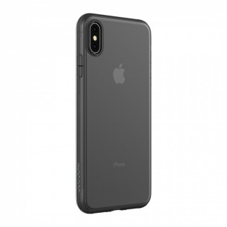 Coque iPhone XS Max Incase Clear Cover Noir