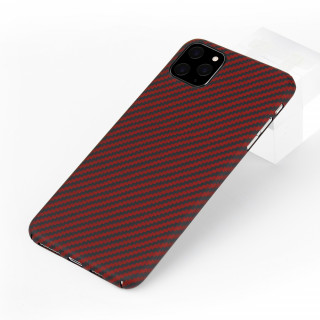 Coque Apple iPhone 11 Pro Karbon ItCase Rouge