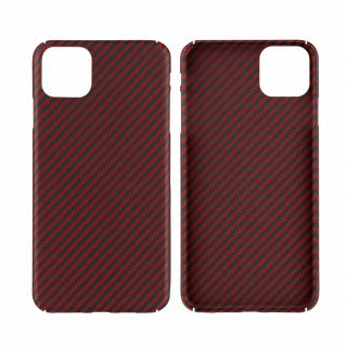 Coque Apple iPhone 11 Karbon ItCase Rouge