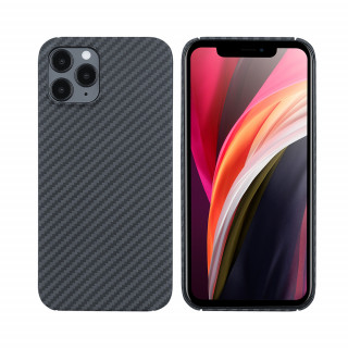 Coque Apple iPhone 12 Pro Karbon ItCase Noir