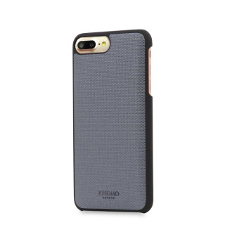 Coque Apple iPhone 8 Plus/7 Plus Knomo Cuir Gris
