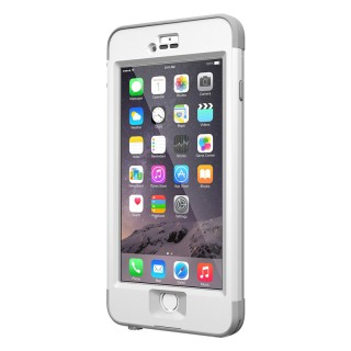 Coque Etanche LifeProof Nüüd iPhone 6 Plus/6s Plus Blanche