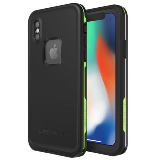 Coque Etanche LifeProof Fré iPhone X Night Lite Black