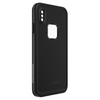 Coque Etanche LifeProof Fré iPhone XS Max Asphalt Black