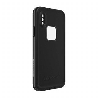 Coque Etanche LifeProof Fré iPhone XS/X Asphalt Black