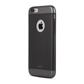 Coque iPhone 6/6s Moshi iGlaze Noir