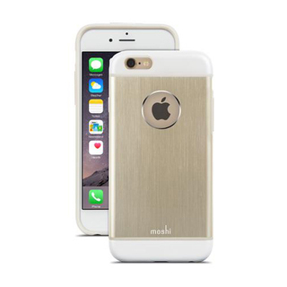 Coque iPhone 6/6s iGlaze Armour Aluminium Or Moshi