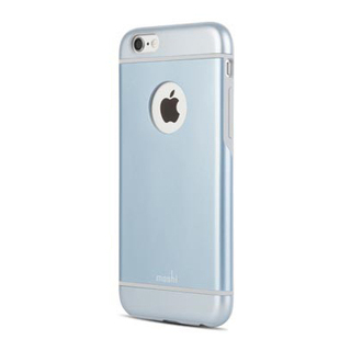 Coque iPhone 6/6s Moshi iGlaze Bleu