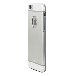 Coque iPhone 6 Plus/6s Plus iGlaze Armour Aluminium Argent Moshi