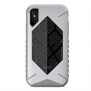 Coque Antichute Apple iPhone XS/X Moshi Talos Gris