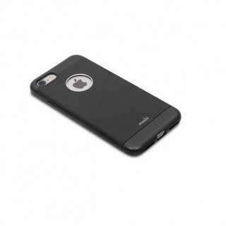 Coque iPhone 7/8 iGlaze Armour Aluminium Moshi Noir Onyx