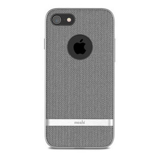 Coque iPhone 7/8 Vesta Moshi Gris Chevron