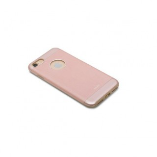 Coque iPhone 7/8 iGlaze Armour Aluminium Moshi Or Rose