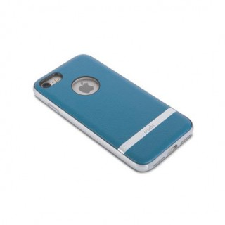 Coque iPhone 7/8 iGlaze Napa Moshi Bleu