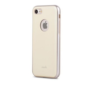 Coque iPhone 7/8 iGlaze Moshi Jaune Mimosa