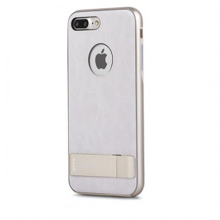 Coque iPhone 7 Plus/8 Plus iGlaze Kameleon Moshi Blanc