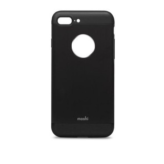 Coque iPhone 7 Plus/8 Plus iGlaze Armour Aluminium Moshi Noir Onyx