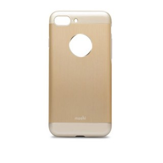 Coque iPhone 7 Plus/8 Plus iGlaze Armour Aluminium Moshi Or Mat