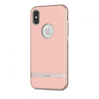 Coque iPhone XS/X Vesta Moshi Rose