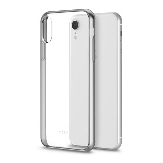 Coque iPhone XR Vitros Moshi Jet Silver